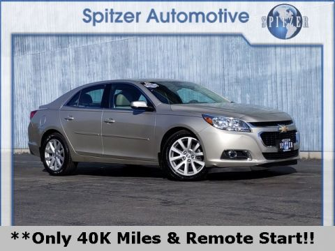 Pre-Owned 2015 Chevrolet Malibu LT FWD 4D Sedan