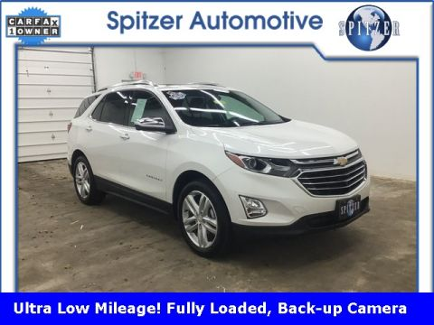 Pre-Owned 2019 Chevrolet Equinox Premier With Navigation & AWD