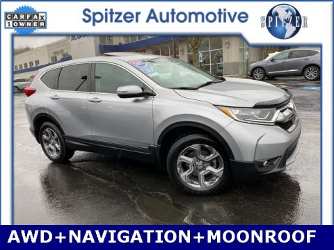 Pre-Owned 2017 Honda CR-V EX-L With Navigation & AWD