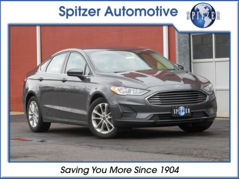 Pre-Owned 2019 Ford Fusion SE FWD 4D Sedan