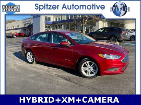 Pre-Owned 2018 Ford Fusion Hybrid SE FWD 4D Sedan